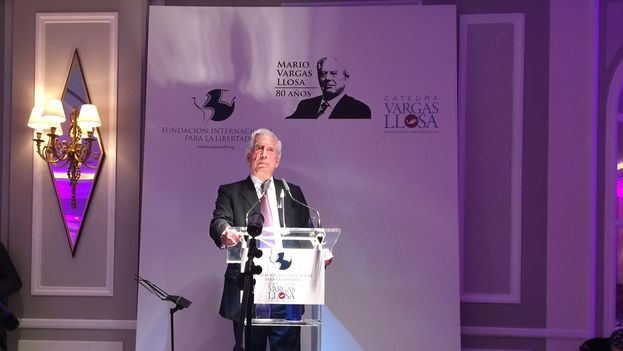 Mario Vargas Llosa's speech celebrating his 80th birthday. (14ymedio)
