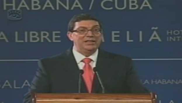 Cuban Minister of Foreign Affairs Bruno Rodriguez