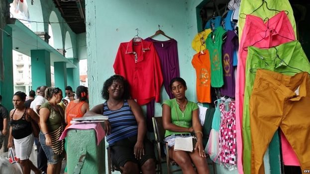 Clothing store in Havana. (EFE)