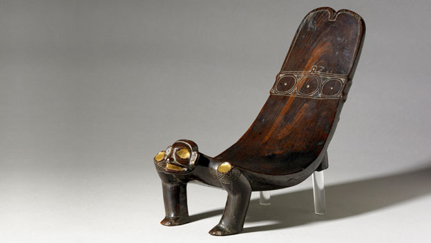 "Taino ritual seat known as a ""duho"". Source: Britishmuseum.org"