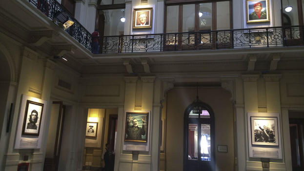 The portraits of the presidents will be relocated to the Bicentennial Museum for permanent display