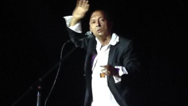 The humorist Nelson Gudin, El Bacán. (14ymedio)