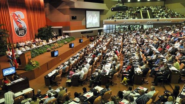 The Palace of Conventions during the Sixth Congress of the Communist Party of Cuba. (EFE)