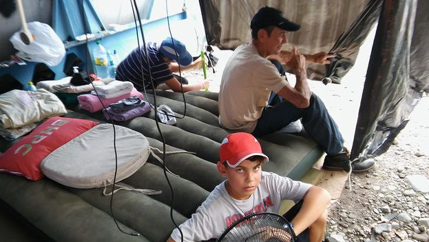 Cuban Migrants stranded in Panama. (Facebook)