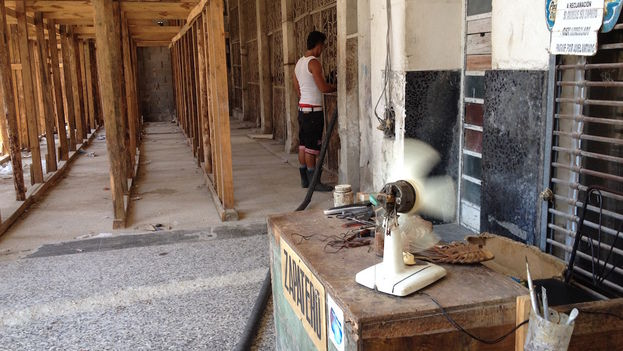 Problems with water supply in Havana. (14ymedio)