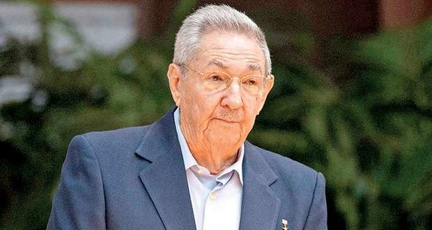 Raul Castro at the 7th Congress