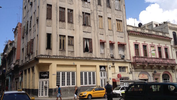 Residents of #2 Bernaza Street, between Obispo and O'Reilly, were victims of an accident caused by the Electric Company at the site of repairs