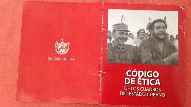 The Code of Ethics for Cuba's Communist Party cadres. (14ymedio)