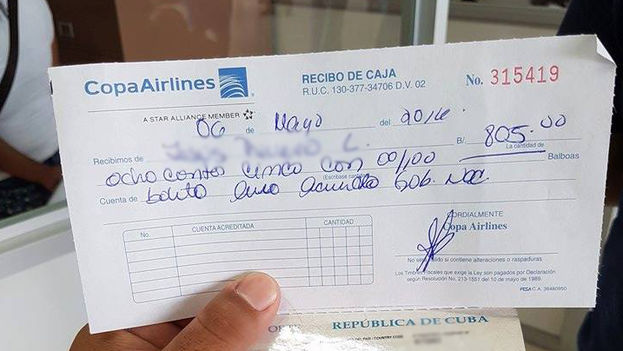 The ticket from Panama to Mexico costs $805 per each adult. (Courtesy)