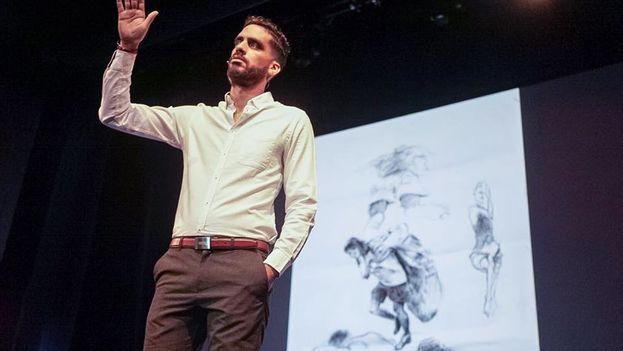 Danilo Maldonado – known as El Sexto – at the Oslo Freedom Forum. (OFF)