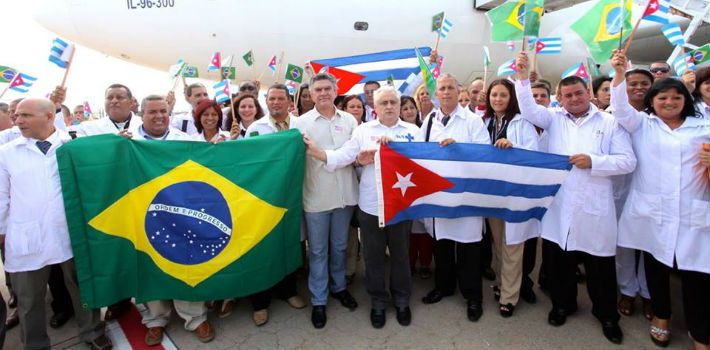Cuban doctors on medical missions in Brazil (Source: am revista)