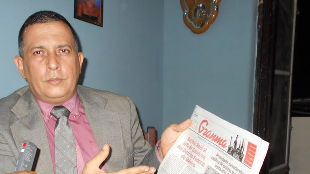 The United States Department of State selected Cuban journalist Jose Antonio Torres to begin the campaign for the World Press Freedom Day.(14ymedio)