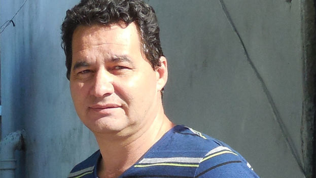 Cuban writer Angel Santiesteban. (14ymedio)
