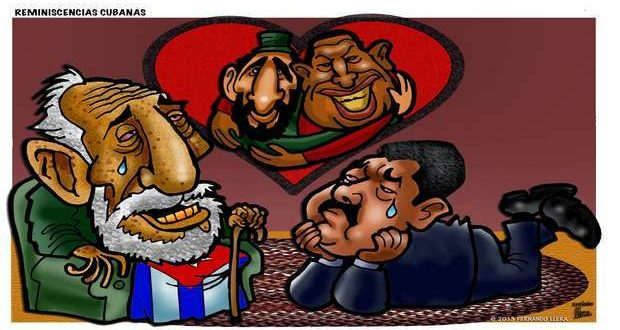 Caricature from the Mexican caricaturist Fernando Llera, taken from his blog.