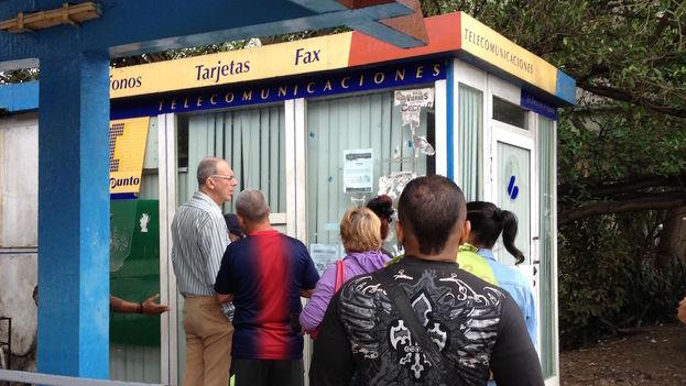 ETECSA Telepoint in Havana. (14ymedio)