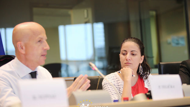 Conference on European Union-Cuba relations held this Tuesday at the European Parliament in Brussels (ALDE)