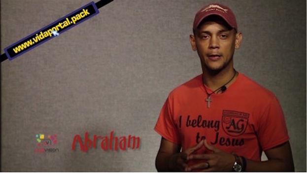 Abraham Campos, from team 'Luzvisión'. (Frame)