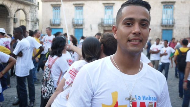 Dariel Hernandez, coordinator of youth ministry for the Diocese of Camagüey. (14ymedio)