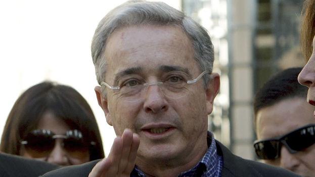 Former Colombian President Alvaro Uribe (EFE)