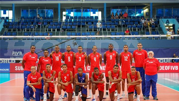 Six members of the Cuban volleyball team have been detained in Finland without the press explaining what crime they are accused of. (Volleyball World League)