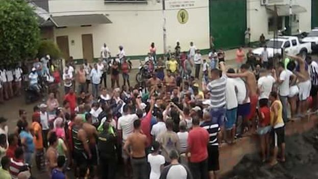 Cuban migrants stranded in Turbo, Columbia (courtesy)