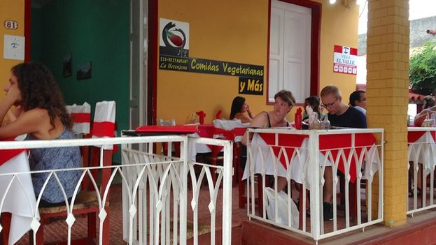 The Aubergine Restaurant in the town of Viñales, Pinar del Río. (14ymedio)