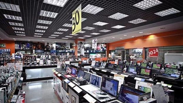 The Saviolovskiyp electronics market. (Ancon)