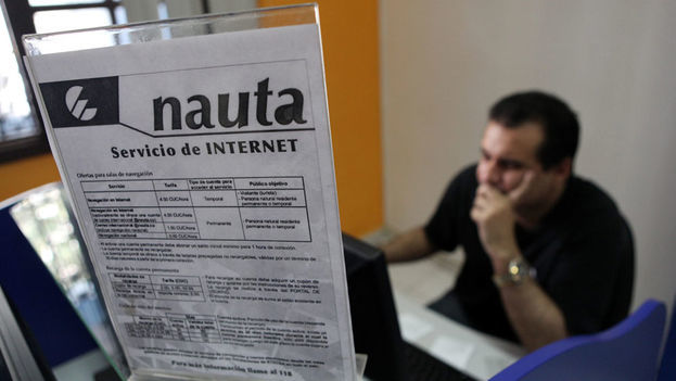 Nauta internet service continues among the worst in the state communications monopoly. (EFE)