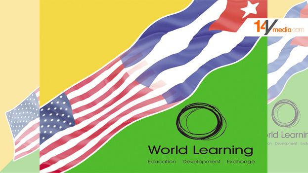 Logo of the advertising campaign for World Learning's program for Cuban youth. (14ymedio)