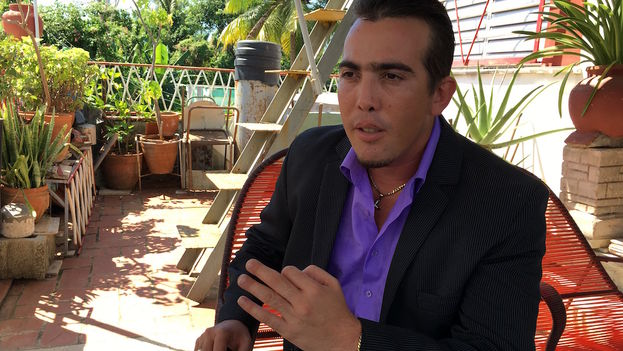 Rolando Lorenzo León, Q Mania TV producer. (14ymedio)