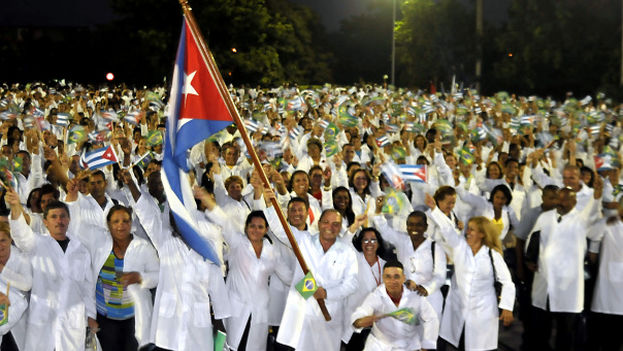 Currently, more than 11,000 Cuban doctors are part of the Brazilian government program 'Mais médicos