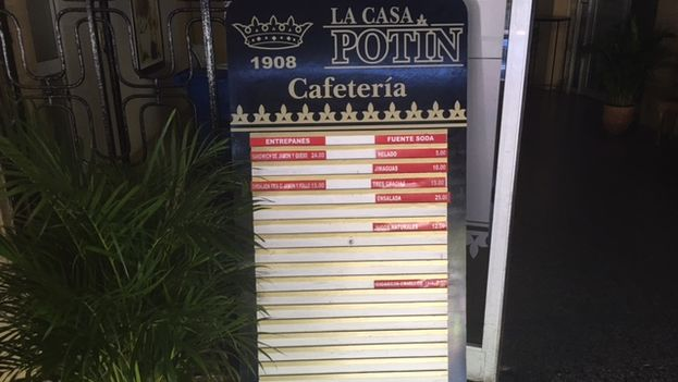 The centrally located La Casa Potín restaurant is one of the 189 dining cooperatives that have been approved in recent years in Cuba. (14ymedio)