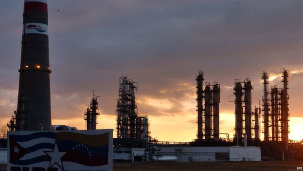 The Camilo Cienfuegos refinery in Cuba. (EFE)