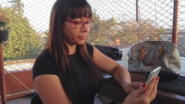 Iliana Hernandez says she feels no regret for having returned to Cuba. (14ymedio)