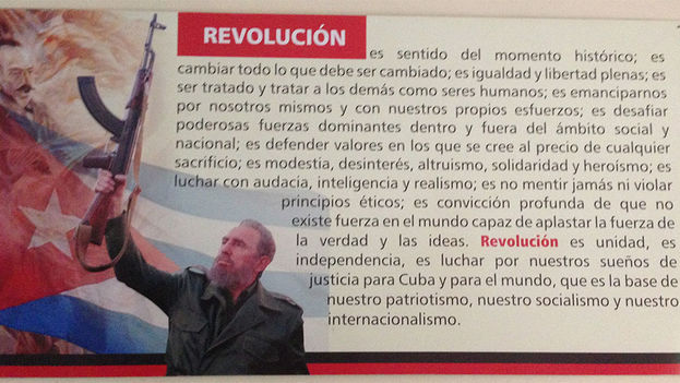 Revolution is ... (14ymedio)