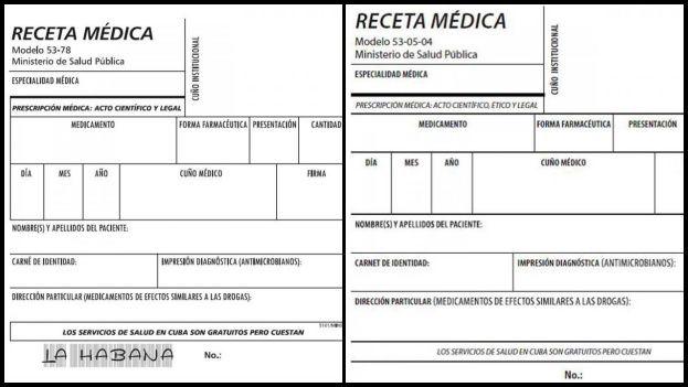 Cubas New Medical Prescription Forms Address The Fight Against Black Market