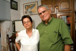 Miriam Leiva and Oscar Espinosa Chepe
