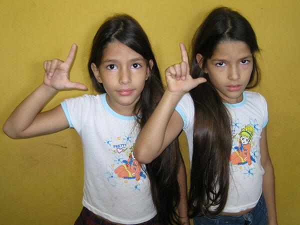 """The twins don't want to """"Be Like Che""""; they want to be like their mother, a Lady in White"""
