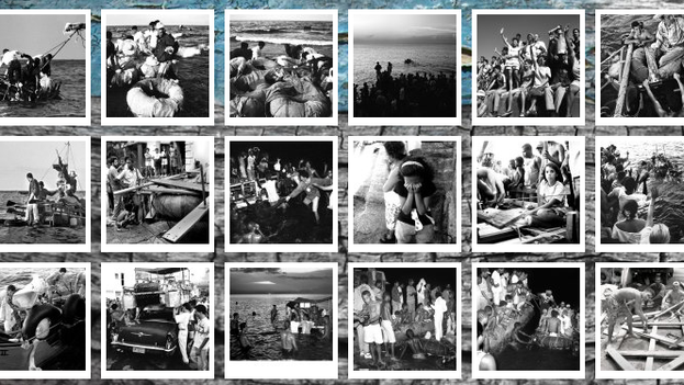 Some photos from the collection of Willy Castellanos (Exodus Project website)