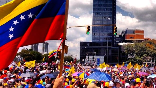 February protests in Venezuela (Diego Urdaneta)