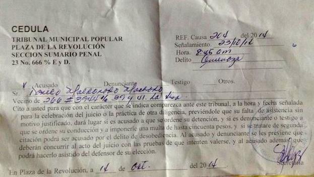 Official citation of Danilo Maldonado
