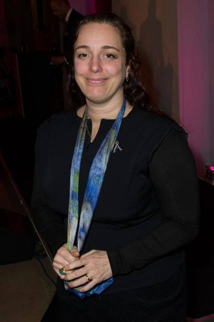 Tania Bruguera, the artist planning an open protest for this afternoon in Havana's Plaza of the Revolution (Source: SIMON BURCHELL GETTY IMAGES in the Miami Herald)