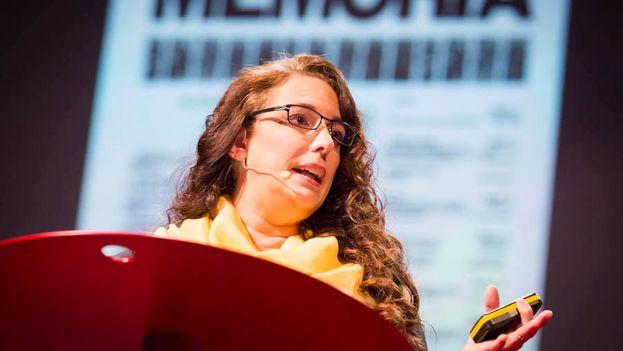 Tania Bruguera at TEDGlobal 2013. (James Duncan Davidson)