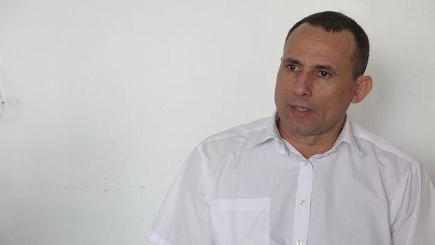 José Daniel Ferrer during the interview. (14ymedio)