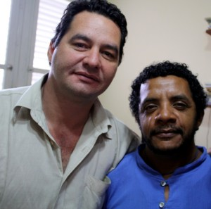 Angel and Luis Felipe