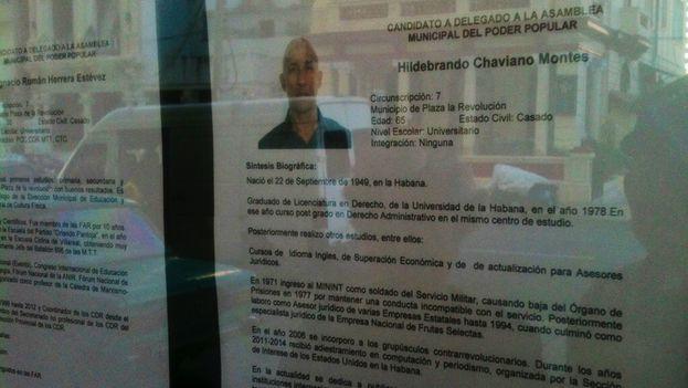 Biography of Hildebrand Chaviano Montes. (14ymedio)