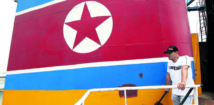 The ghost of North Korean ship Chong Chon Gang and its deadly message for the region haunts Panama. (La Prensa)