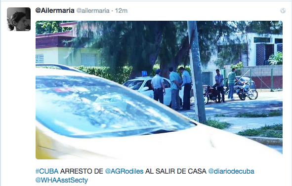 Antonio Rodiles arrested