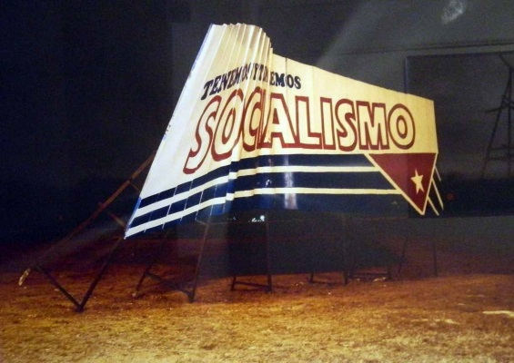 That rare socialism financed with capital from the Empire! (photo courtesy of the author)