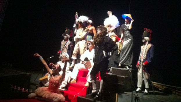 The play 'The King Dies,' directed by Juan Carlos Cremata. (Havana Times)